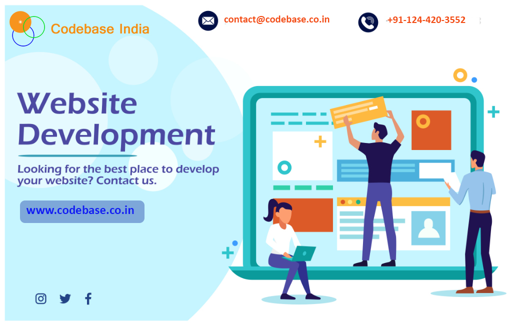 Connect With Web Development Company Delhi Ncr Codebase